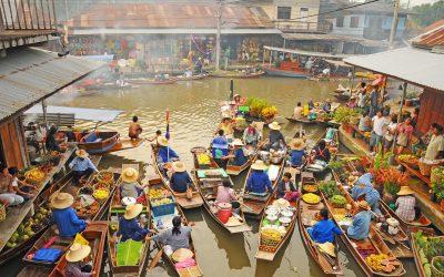 Quitter Ko Phangan, visiter Amphawa le marché flottant : Chapitre 3 en vidéo