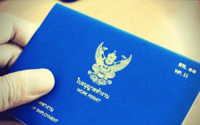 Comment obtenir le permis de travail ou work permit en Thaïlande ?
